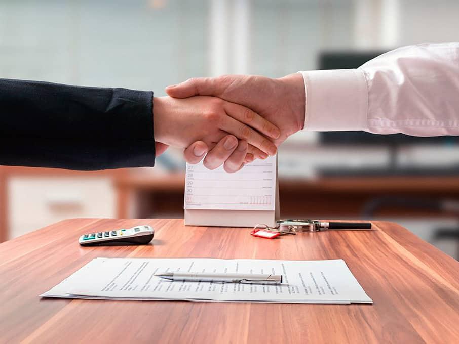 Заключаем договора с организациями